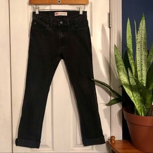 Faded Black Levi's 510 Jeans